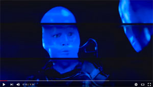Foto: Screenshot YouTube Blue Man Group