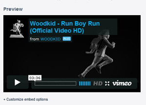 Neues geiles Video mit Woodkid – Run Boy Run