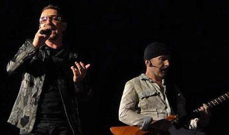 U2-Sänger Bono nach Fahrradsturz operiert